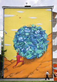 Mural by Internesti Kakzi